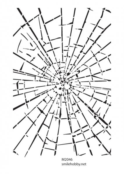 Шаблон за декупаж - 16x22.5cm - M2046