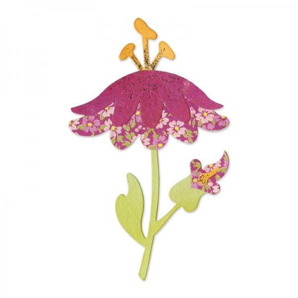 Щанца за изрязване - Flower with Leaves&Stem