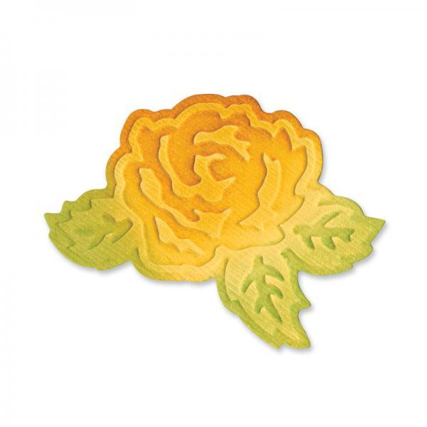 Щанца за изрязване - Flower with Leaves