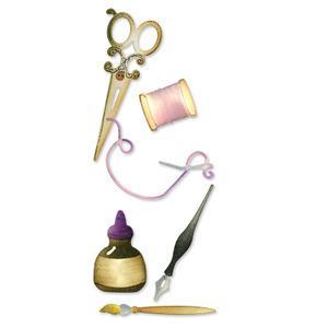 Щанци за изрязване - Sewing&Writing Set
