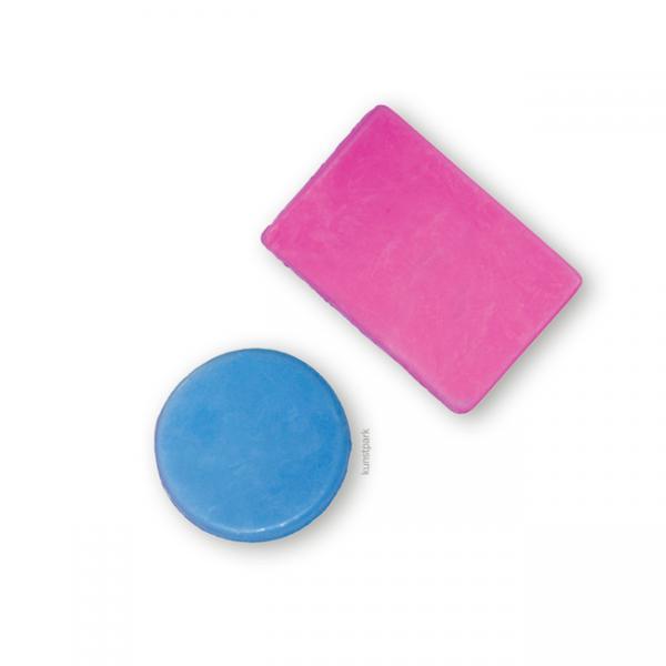 Калъп за сапун - кръг и правоъгълник