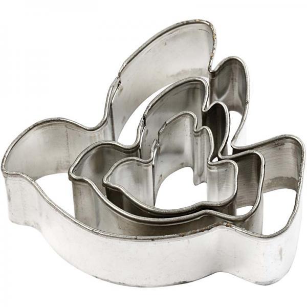 Makin`s Шаблон за изрязване на полимерна глина Гълъб 3 размера
