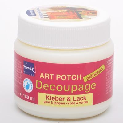 Art POTCH -Лак/лепило за декупаж гланц 150 мл.