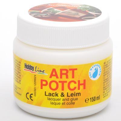 Art POTCH - Лак/лепило за салфетна техника 150 мл.