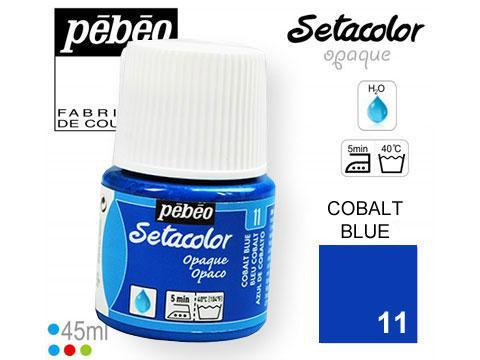 PEBEO Боя за текстил Setacolor Opaque 45 ml - cobalt blue 011