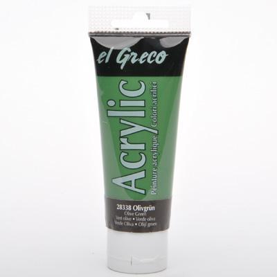 Акрил El Greco 75 мл Olive Green