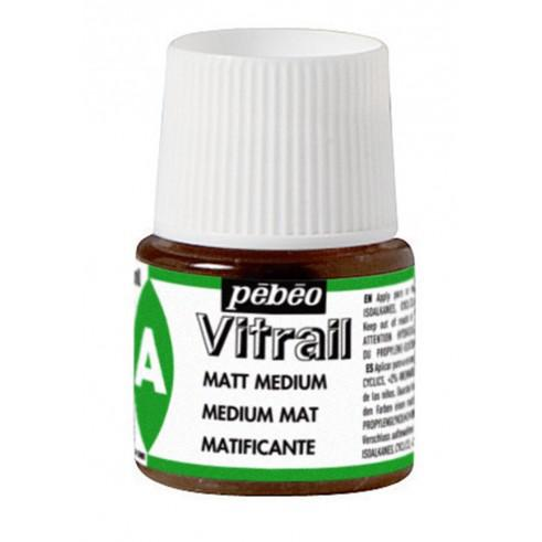 PEBEO  Vitrail - Matt Medium, без изпичане