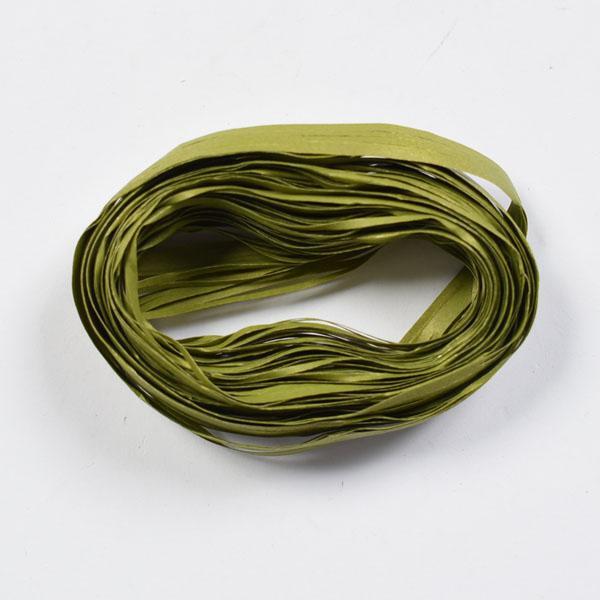 Рафия - 3м.- маслено зелено
