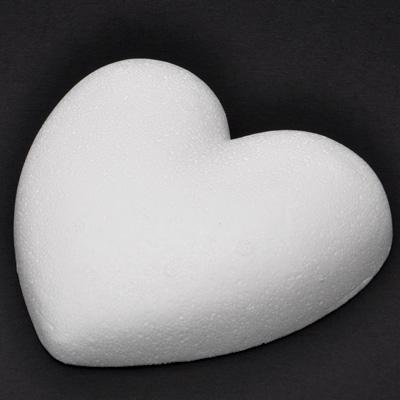Сърце от стиропор плоско 5 см.