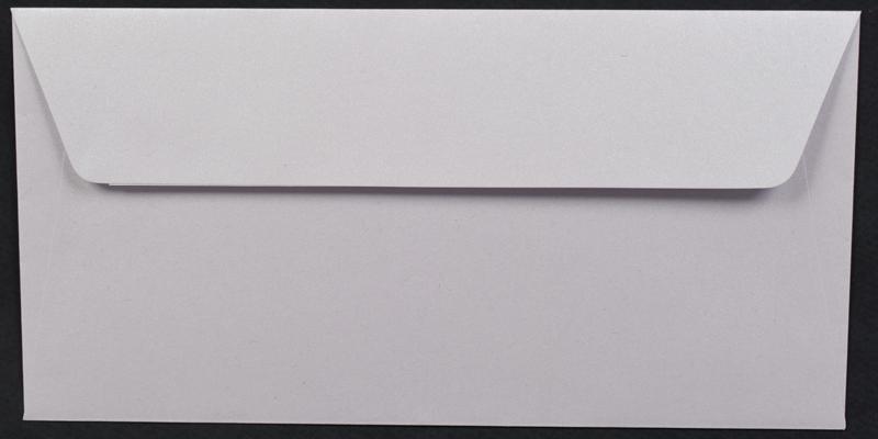 Луксозен плик за покана или пари - светло лилав