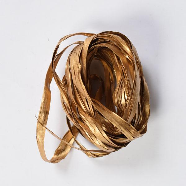 Рафия - 3м.- златна
