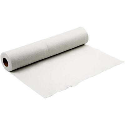 Филц - бяло - 5 м дебелина 1,5 мм