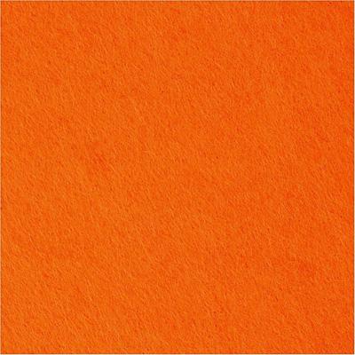 Филц - оранжево - 0,5 м дебелина 1,5 мм