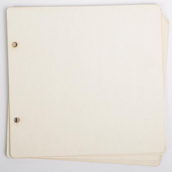 Допълнителни страници за скрапбук албум -6 бр.19х19,5см