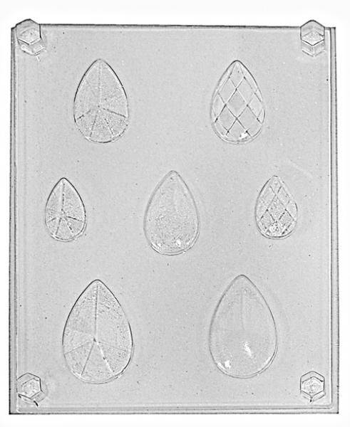 Молд за бижута - кристални капки