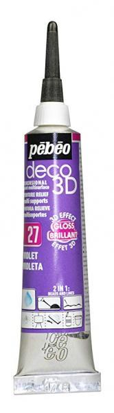 Универсален контур DECO 3D - Гланц лилаво