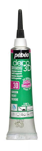 Универсален контур DECO 3D - Гланц зелено