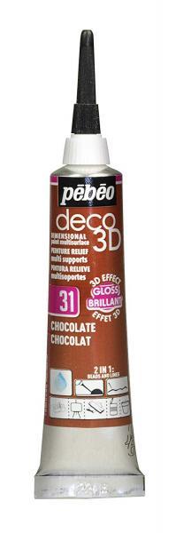 Универсален контур DECO 3D - Гланц шоколад