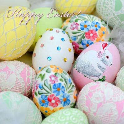Салфетки-Pastel Eggs- NOUVEAU 33х33
