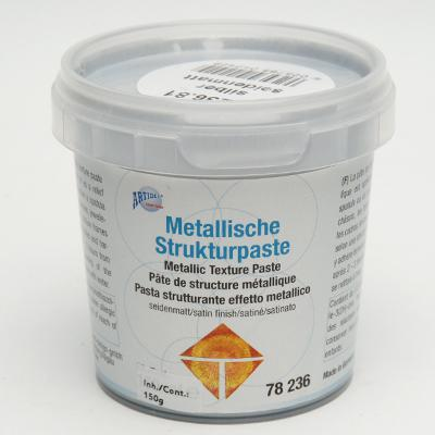 Металик структурна паста сребро 150гр.