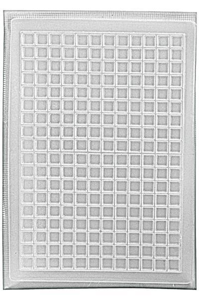 Геометричен калъп квадратчета 10х10 - 216 бр.