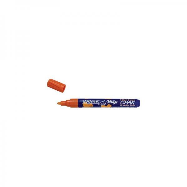 Оранжев маркер за тъмен текстил Javana 2-4 мм