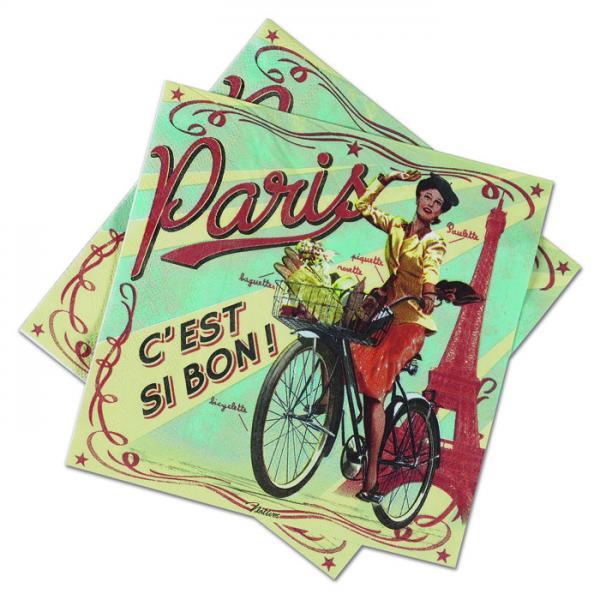 Пакет 20 бр салфетки-NATIVES 33 см х 33 см - Paris Paulette