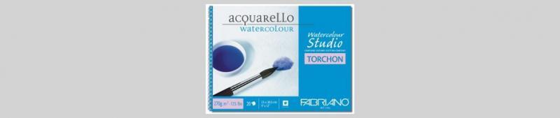 Блок за рисуване с акварелни бои- 21х29,7 - 12л.- 270гр.