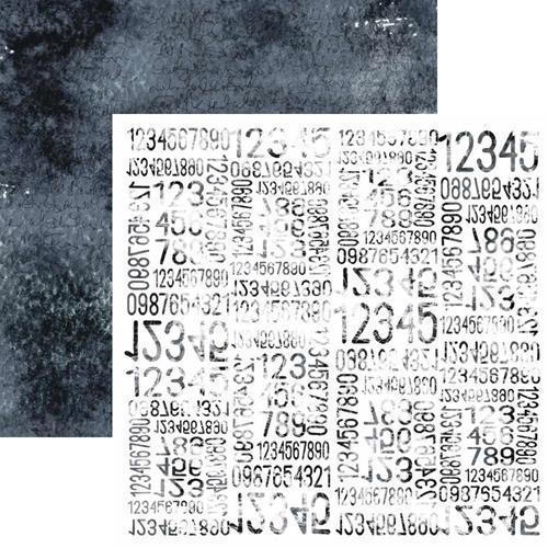 Двустранна дизайнерска хартия 250гр - Aqua Flora 05