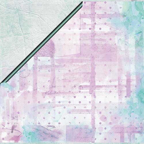 Двустранна дизайнерска хартия 250гр - Art Journey 02