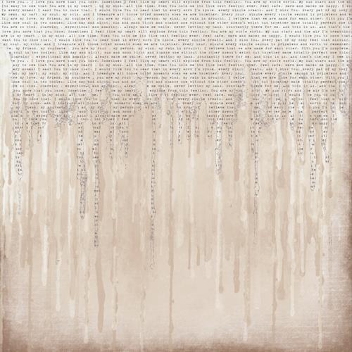 Двустранна дизайнерска хартия 250гр - On the wall 04