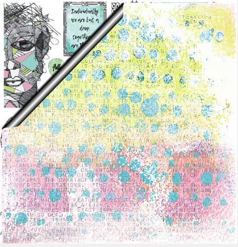 Двустранна дизайнерска хартия - Strength in Numbers