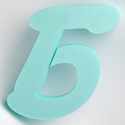 Буква от фибран Б
