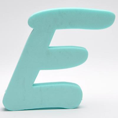 Буква от фибран Е