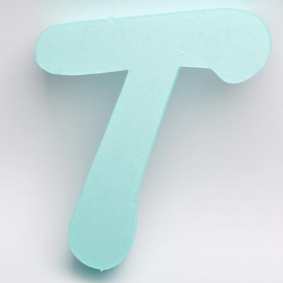 Буква от фибран Т