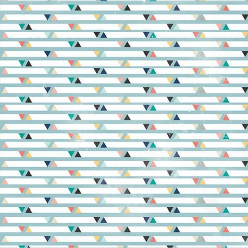 Двустранна дизайнерска хартия - Triangles