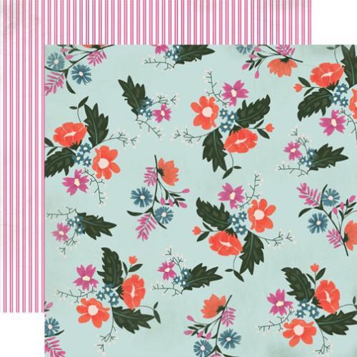 Двустранна дизайнерска хартия - Wildflower Floral