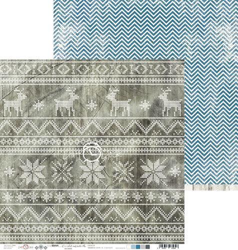 Двустранна дизайнерска хартия 190гр -  It's cold outside