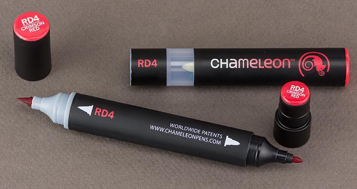 Хамелеон маркер - Crimson Red RD4