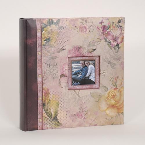 Флорален албум - Летен полъх розов мотив