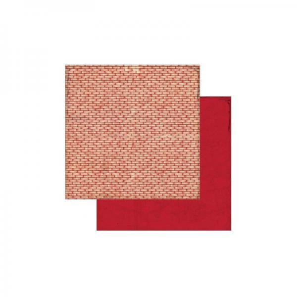 Двустранна дизайнерска хартия - Authentique Abroad