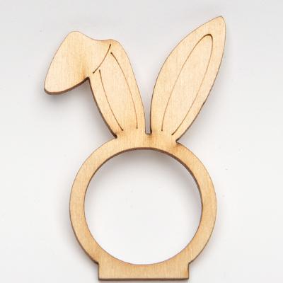 Пръстен за салфетка с отвор 3 см - заешки ушички