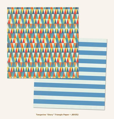 Двустранна дизайнерска хартия - JB1052