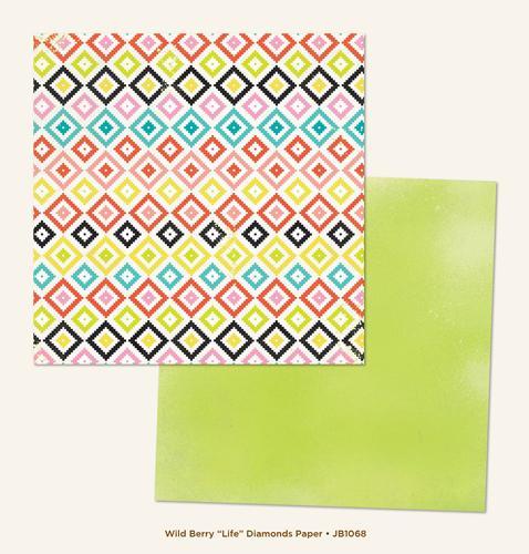 Двустранна дизайнерска хартия - JB1068