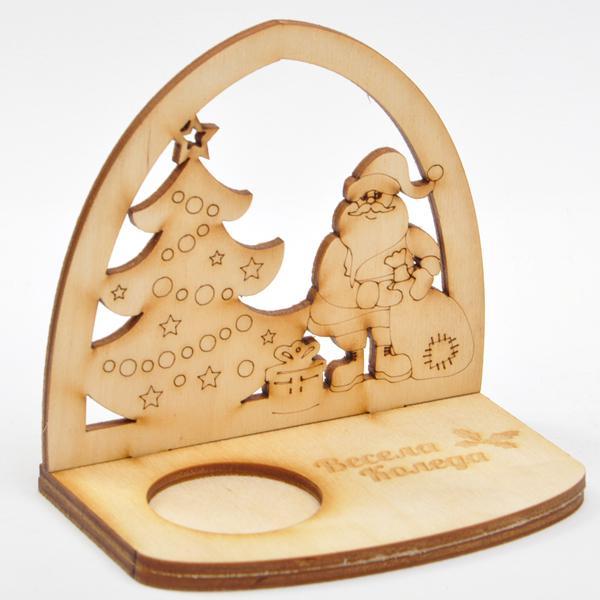 Коледен свещник - елха
