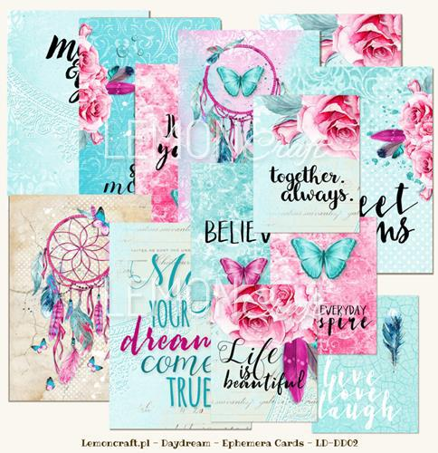 Набор за картички 32 листа, 10x15cm и 5x7,5cm - Daydream