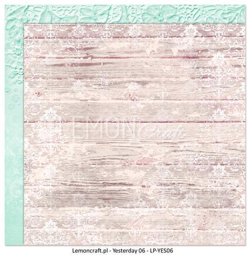 Двустранна дизайнерска хартия 200гр - Yesterday 6