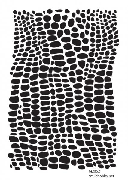Шаблон за декупаж - 16x22.5cm - M2052