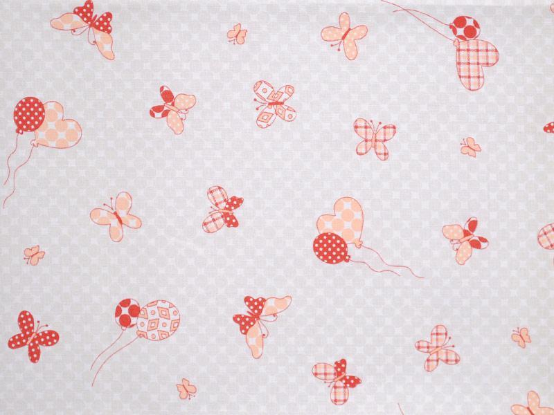 Памучен плат MARIPOSA BAGNO 120 Пеперуди - 50 х 50 см
