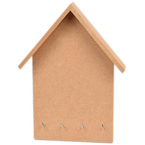 Къщичка за ключове от МДФ 23х31 см